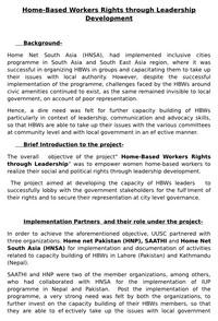 Final Report Saathi - 2017, Nepal | Homenet South Asia